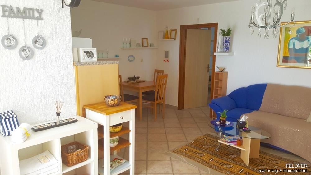Wohnbereich kleines Appartement