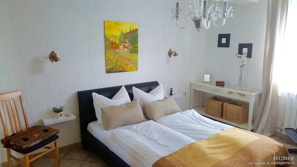 Schlafzimmer kleines Appartement