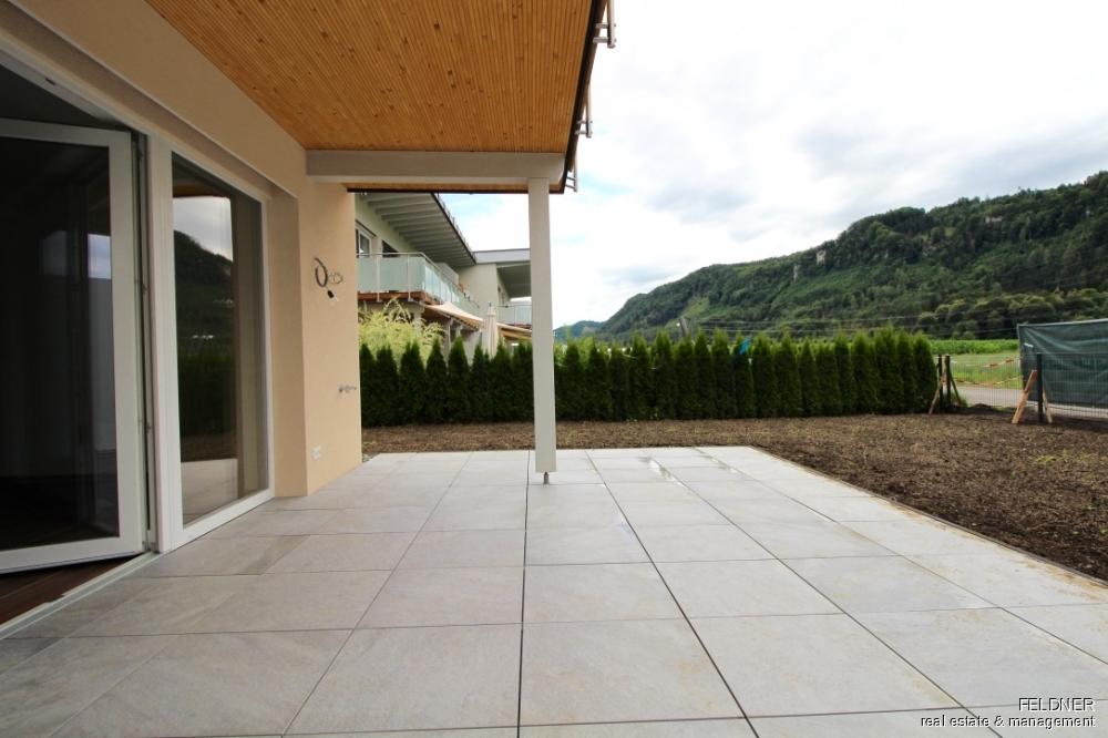 Terrasse Gartenbereich